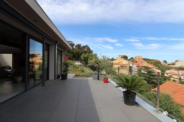 Architect designed villa in Port-Vendres